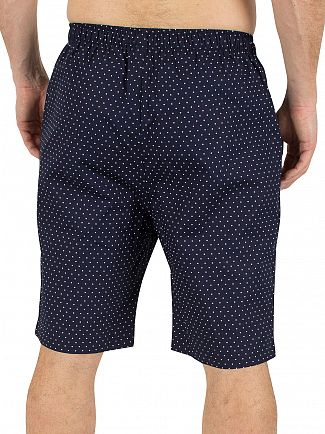 Polo Ralph Lauren Cruise Navy Polka Dot Logo Sleep Shorts
