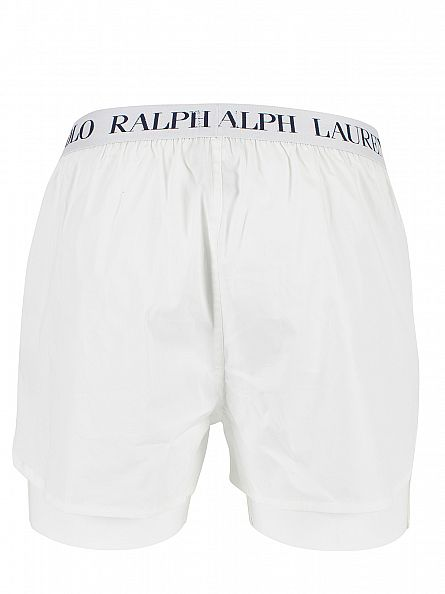 Polo Ralph Lauren White Slim Fit Stretch Cotton Woven Shorts