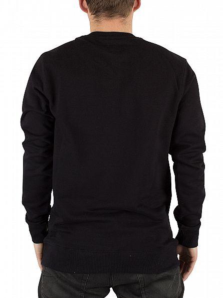 Vans Black Graphic Classic Logo Sweatshirt