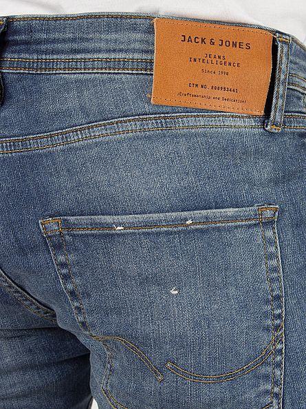 Jack & Jones Blue Denim Glenn Original Slim Fit 152 Jeans