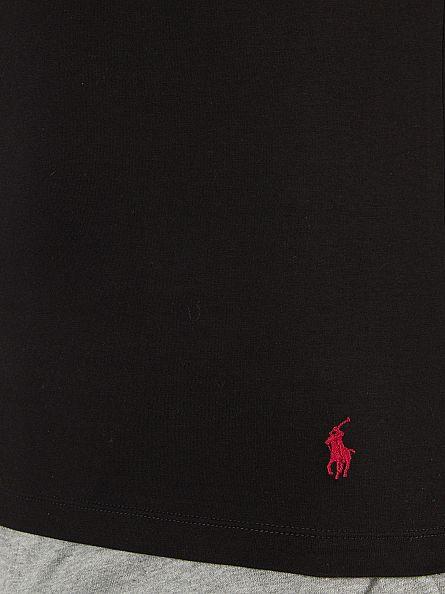 Polo Ralph Lauren Polo Black/Polo Black 2 Pack Longsleeved Stretch Cotton T-Shirt
