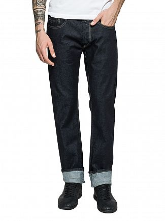 Replay Dark Wash Newbill Comfort Fit Jeans