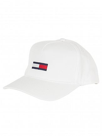 Hilfiger Denim White Flag 11 Logo Cap
