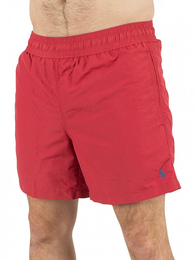 Polo Ralph Lauren Chili Pepper Hawaiian Logo Swim Shorts