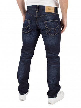 Edwin Deep Blue Denim ED-55 Regular Tapered Jeans