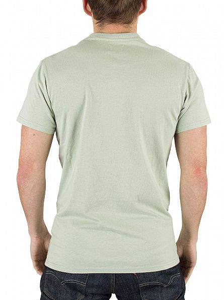 Edwin Mint Pocket T-Shirt