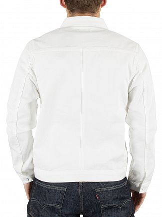 Levi's Bright White Line 8 ND Twill Trucker Jacket