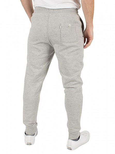 Levi's Light Grey Marl Line 8 Straight Fit Drizzle Heather Joggers