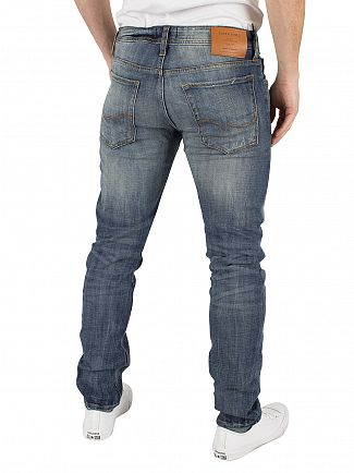 Jack & Jones Blue Denim Glenn Original 988 Slim Fit Jeans