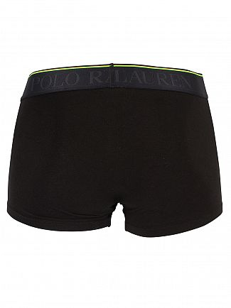 Polo Ralph Lauren Polo Black Classic Stretch Cotton Logo Trunks