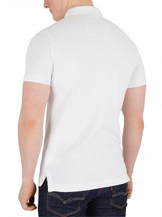 Superdry Optic Classic Pique Logo Polo Shirt