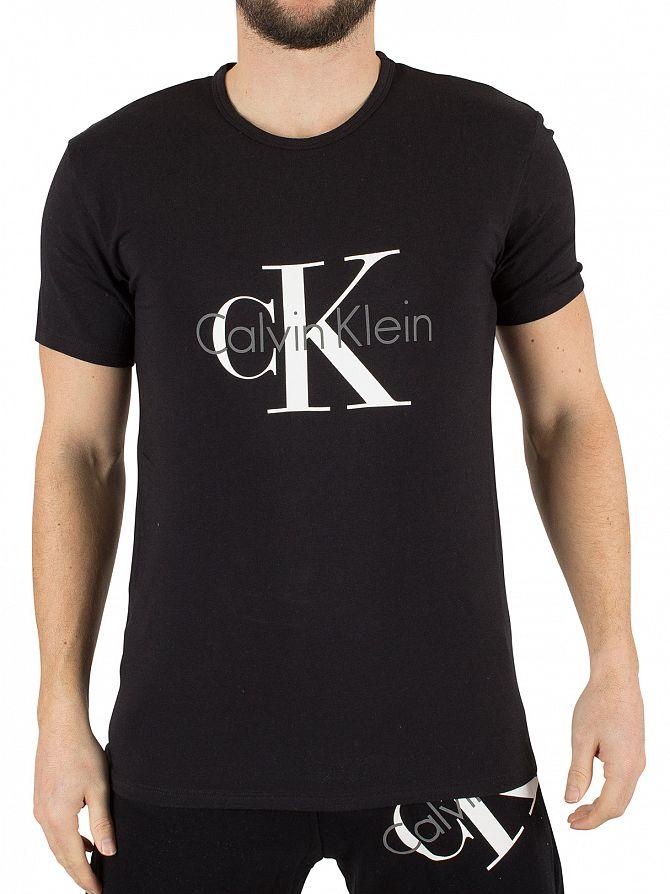 Calvin Klein Black CK Graphic T-Shirt
