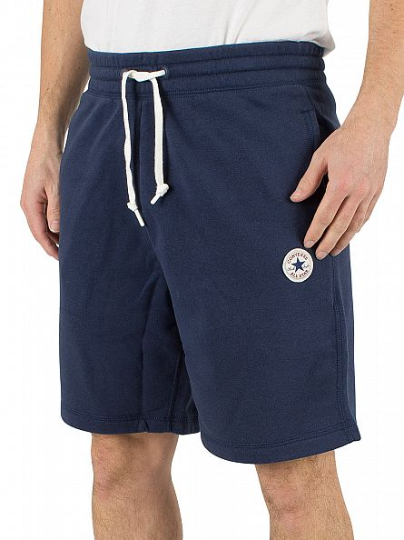 Converse Nighttime Navy Core Logo Sweat Shorts