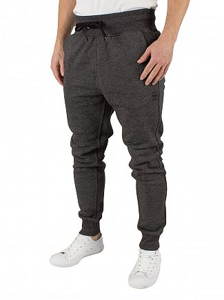 G-Star Black Heather Core 3D Tapered Fit Marled Logo Joggers