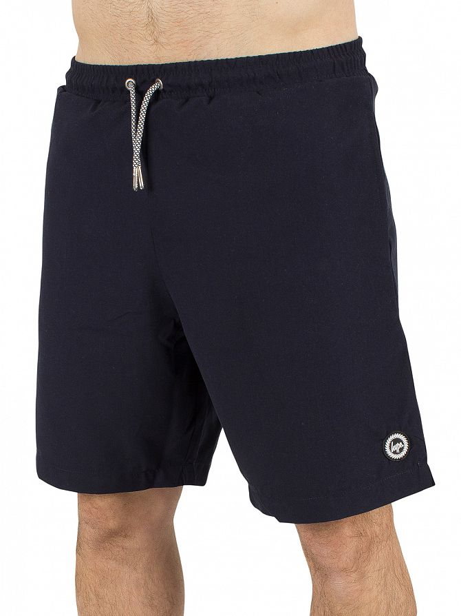 Hype Navy Core Logo Swimshorts