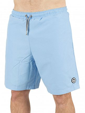 Hype Sky Blue Core Logo Swimshorts