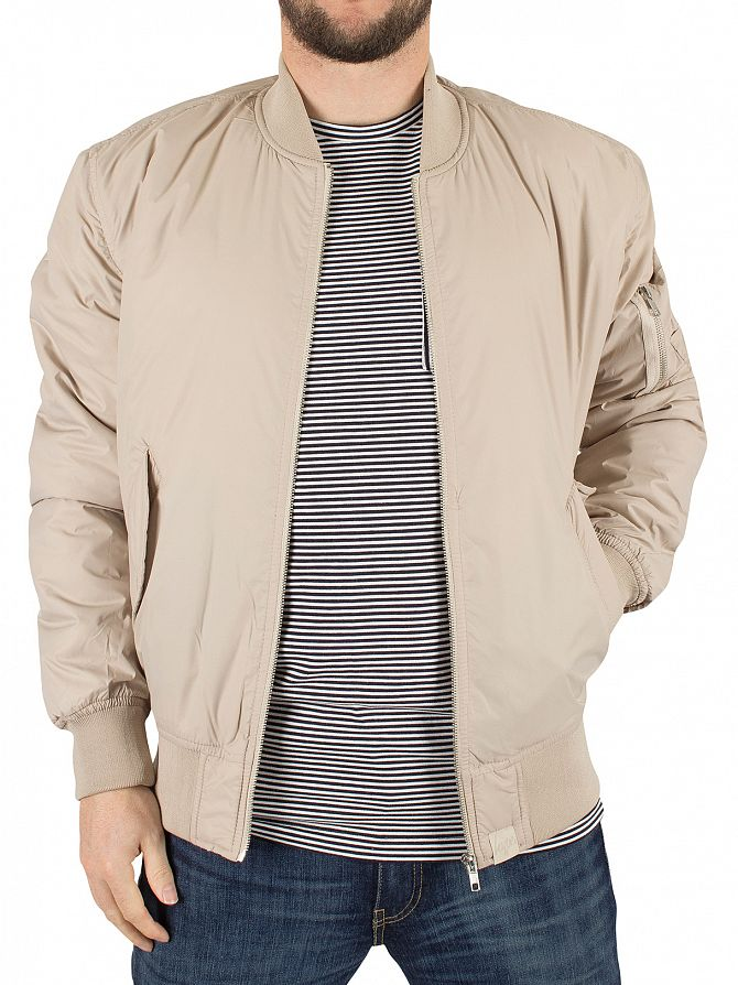 Hype Sand Plain Bomber Jacket