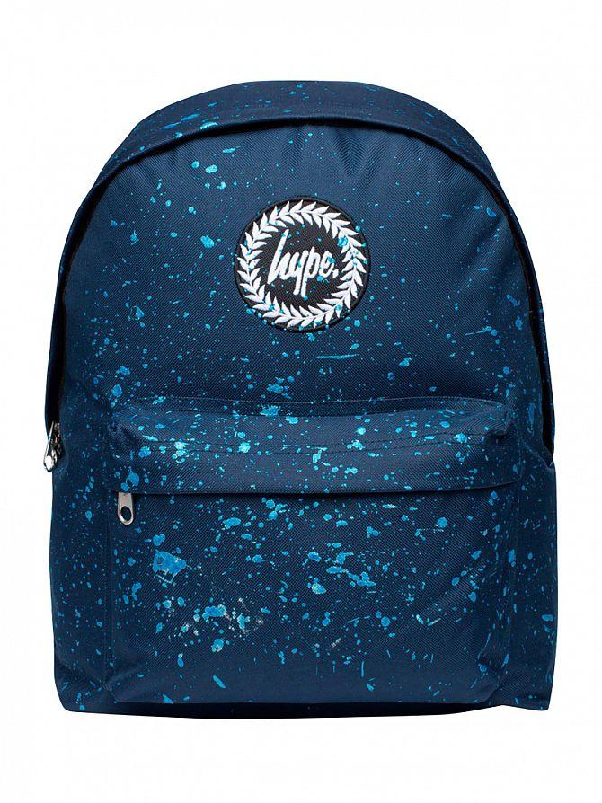 Hype Navy/Blue Metallic Speckle Logo Backpack