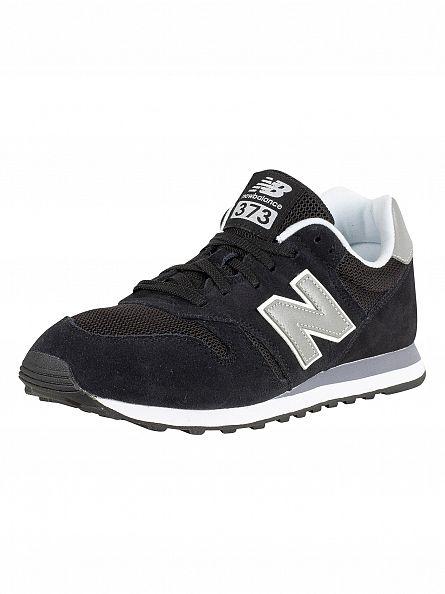 New Balance Black 373 Trainers