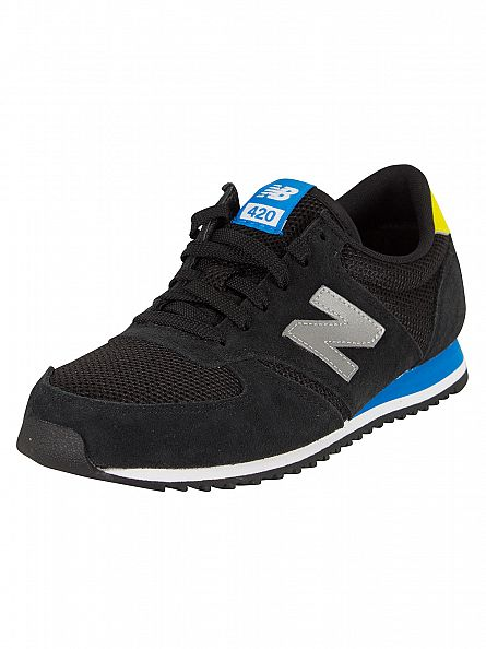New Balance Black 420 Trainers