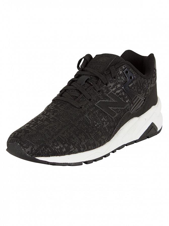 New Balance Black/White 580 Trainers