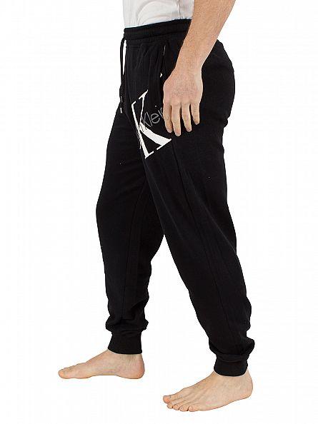 Calvin Klein Black CK Logo Jogging Bottoms
