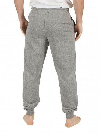 Calvin Klein Mid Grey Marl CK Logo Jogging Bottoms