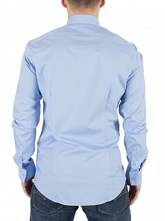 Calvin Klein Light Blue Slim Fit Bari Shirt