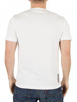 Emporio Armani White EA7 Logo T-Shirt
