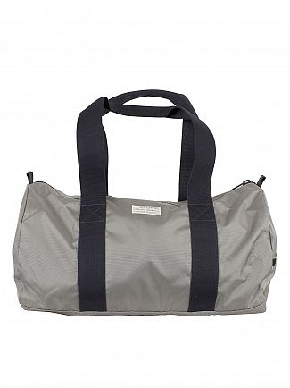 Gant Stone Grey Original Logo Holdall Bag