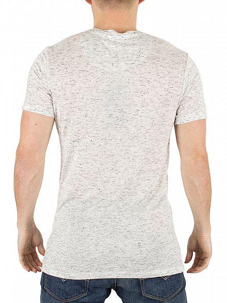 Hype Stone Flecked Graphic Logo T-Shirt