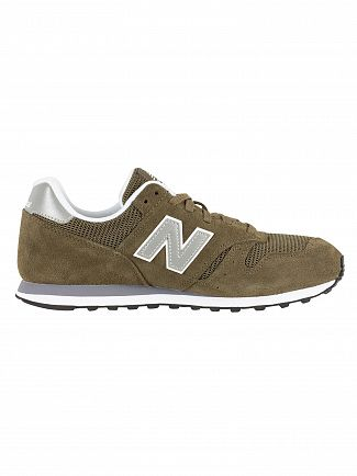 New Balance Dark Green 373 Trainers