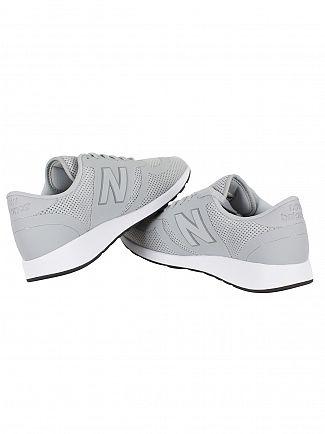 New Balance Grey/White 420 Trainers