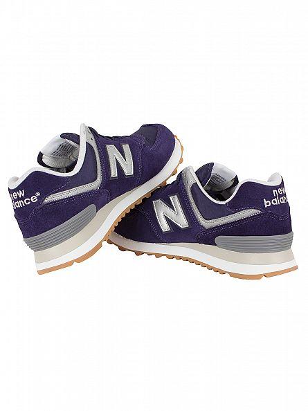New Balance Blue 574 Trainers