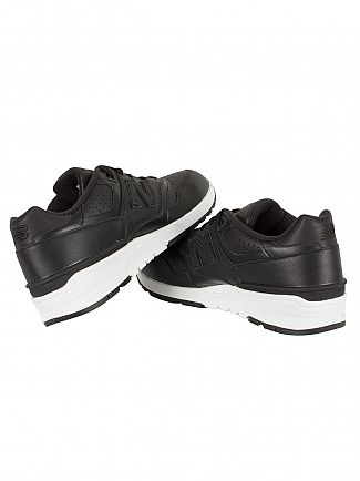 New Balance Black/White 597 Trainers
