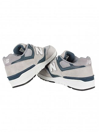 New Balance Grey 597 Trainers