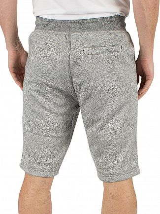 Original Penguin Dark Shadow Marled Logo Sweat Shorts