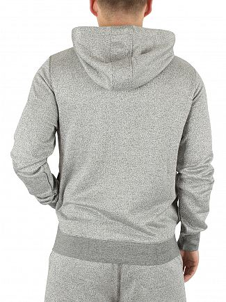 Original Penguin Dark Shadow Marled Logo Zip Hoodie