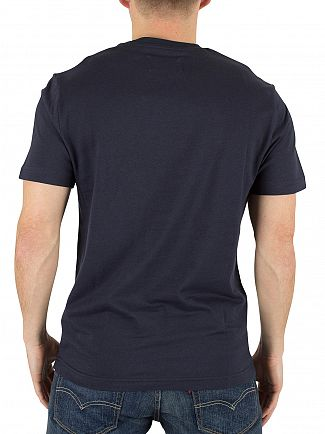 Original Penguin Dark Sapphire Pin Point Embroidery T-Shirt