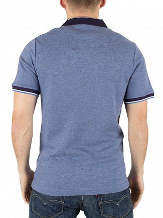 Original Penguin Dark Shadow Slim Fit Tipped Logo Polo Shirt