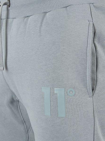 11 Degrees Slate Core Logo Joggers