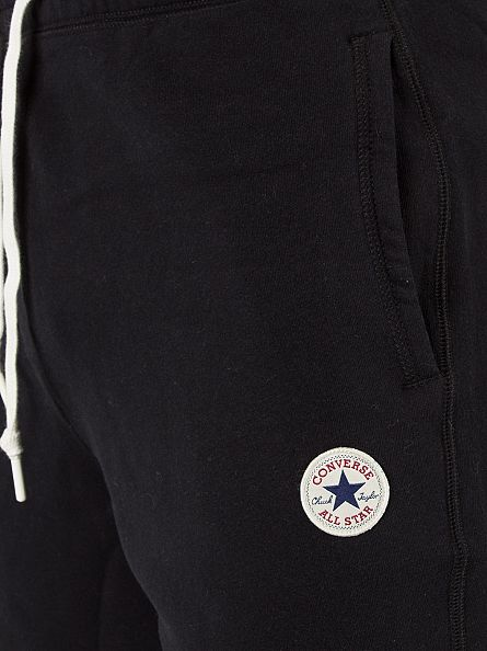 Converse Black Core Logo Sweat Shorts
