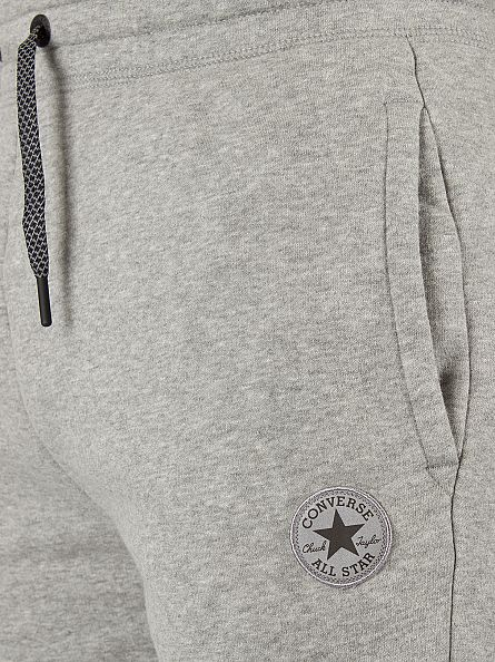 Converse Vintage Grey Heather Core Reflective Panel Logo Marled Joggers