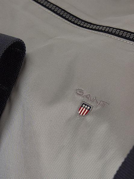 Gant Stone Grey Original Logo Holdall Bag