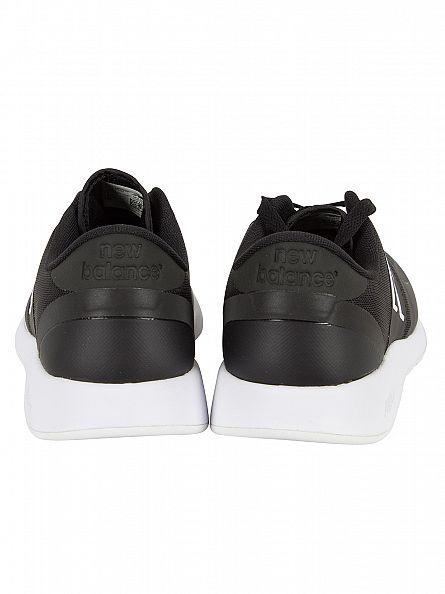 New Balance Black/White 420 Trainers