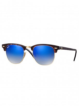 Ray-Ban Brown/Blue Acetate Sunglasses
