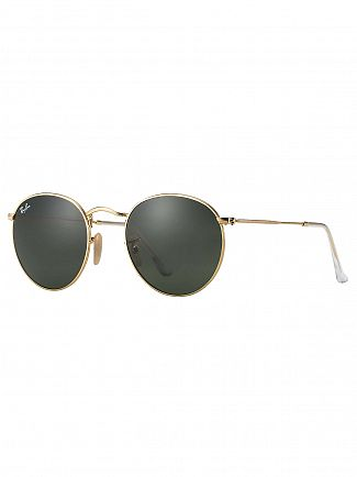 Ray-Ban Gold Metal Sunglasses