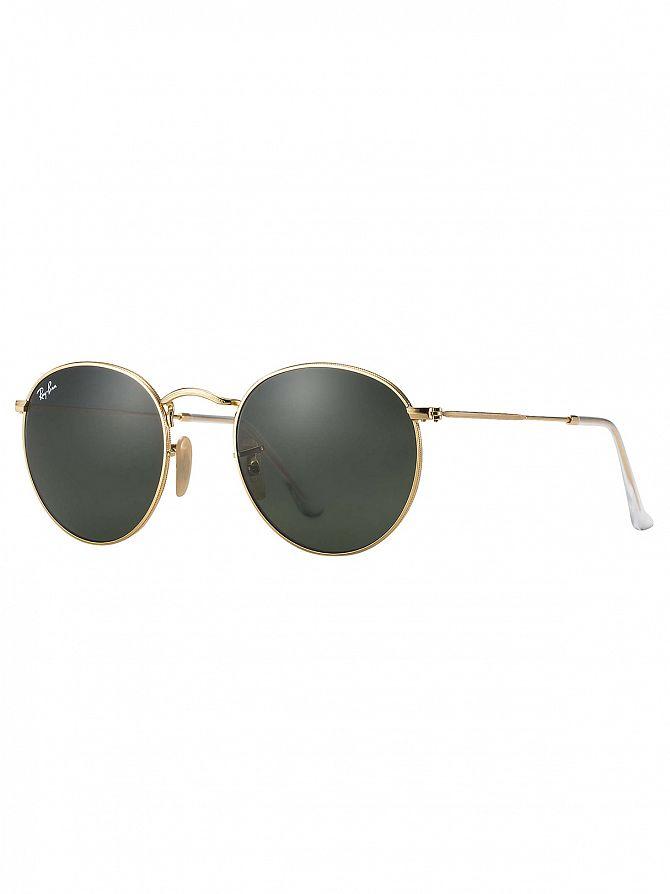 Ray-Ban Gold Metal Sunglasses