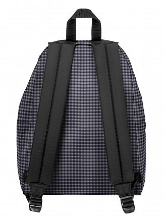 Eastpak Gingham Grey Padded Pak R Logo Backpack