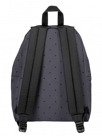 Eastpak Dot Grey Padded Pak R Logo Backpack